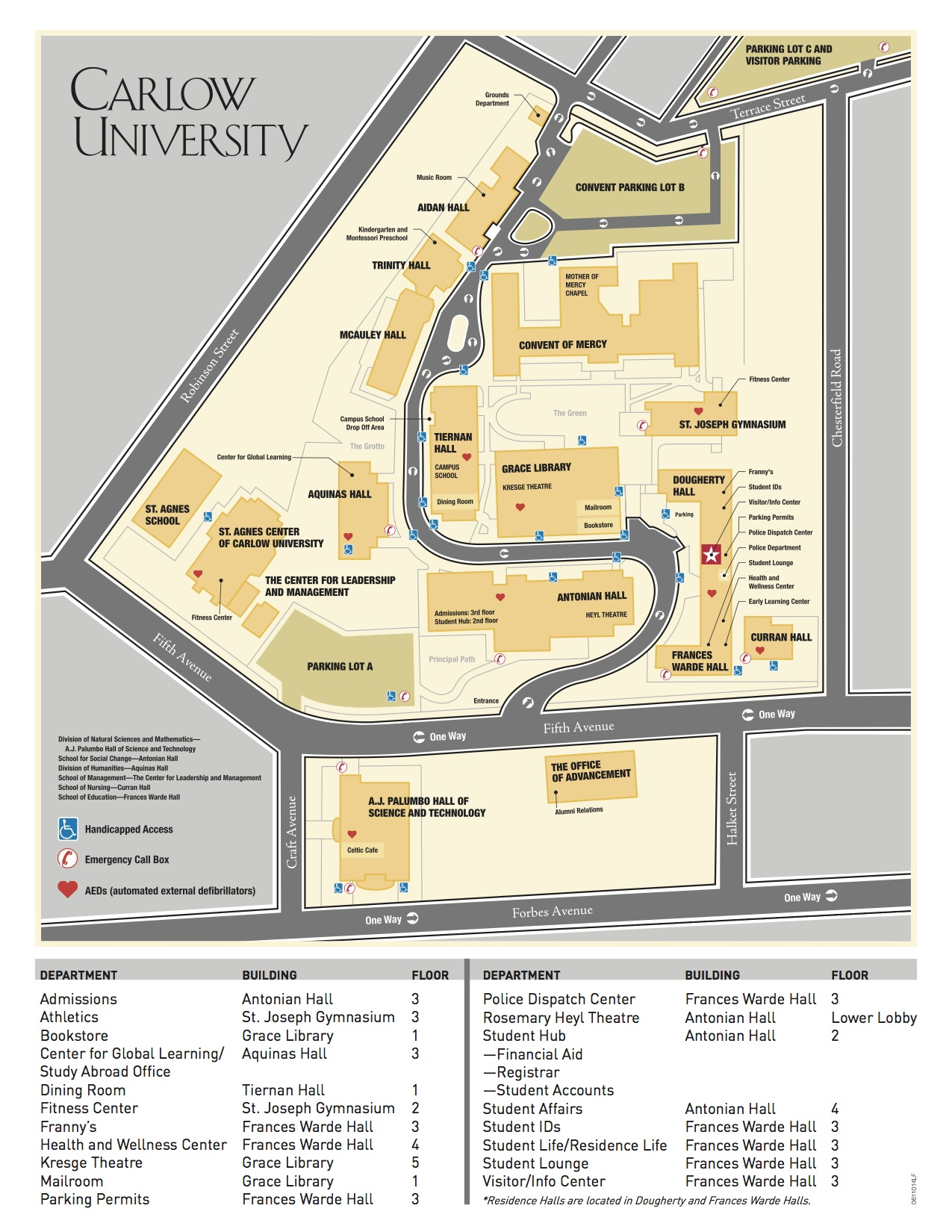 carlow-campus-map